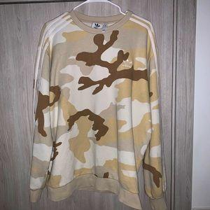 Adidas Camo Sweatshirt